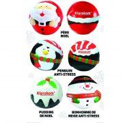 boule anti-stress de Noël
