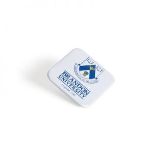 badge carré