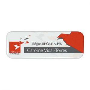 badge rectangle