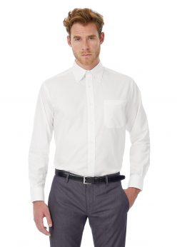 oxford homme lsl white