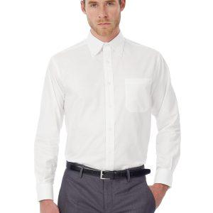 oxford homme lsl white
