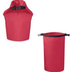 sac étanche rouge