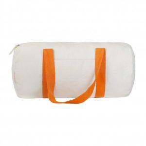 sac polochon en tissu orange