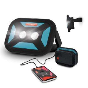 Lampe projecteur et batterie externe powerbank