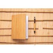 Set carnet de notes A5 et stylo en bambou