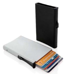 Porte cartes anti-RFID en aluminium