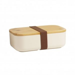 Lunchbox en bambou et biocomposite